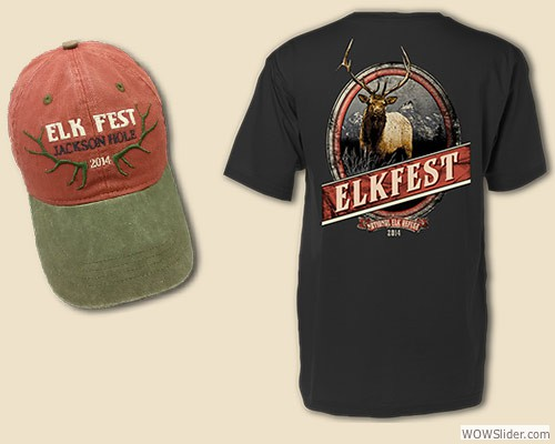 2014 Elkfest Hat and Shirt